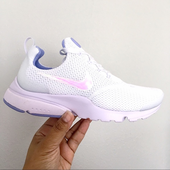 new concept 66ccf 8aa76 Nike Presto Fly White Barely Grape Twilight Pulse NWT